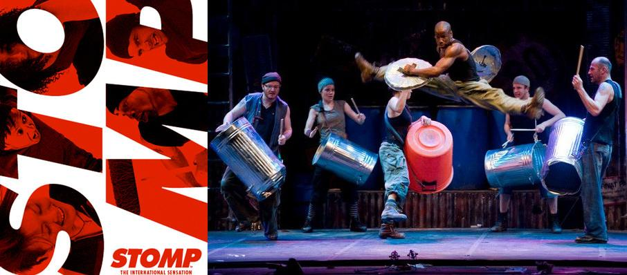 Stomp at Pantages Theater