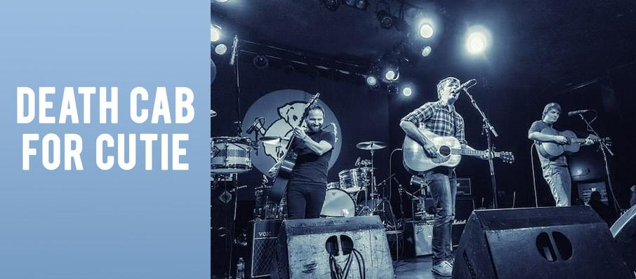 Death Cab For Cutie at Showbox Theater