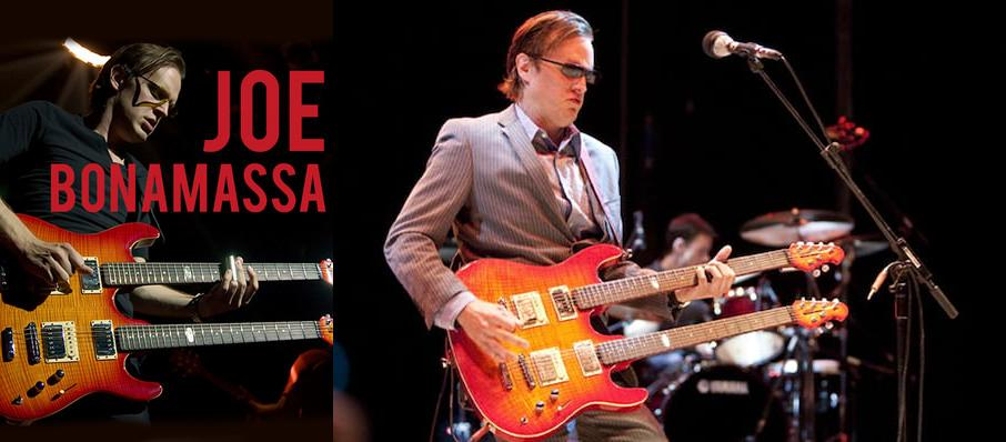 Joe Bonamassa at Paramount Theatre