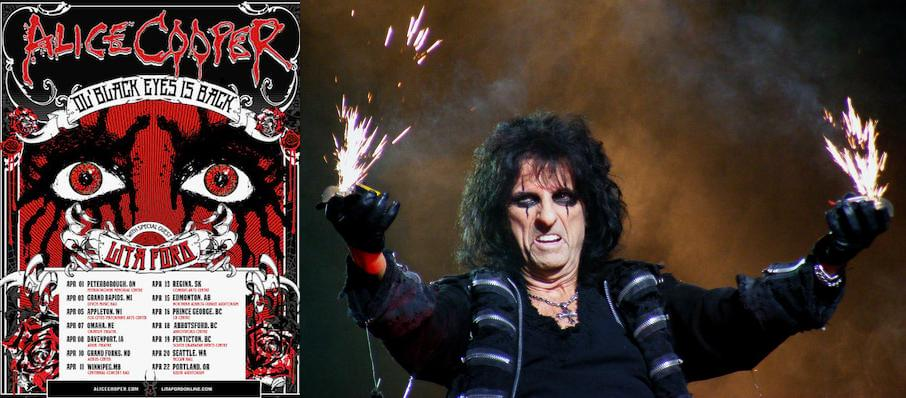 Alice Cooper at McCaw Hall