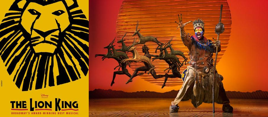 The Lion King at Paramount Theatre