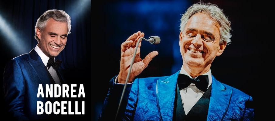 Andrea Bocelli at Key Arena