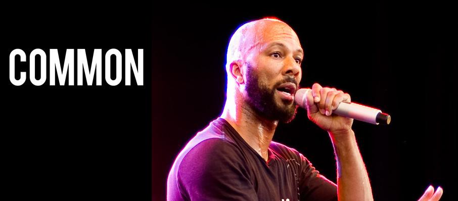 Common at Moore Theatre