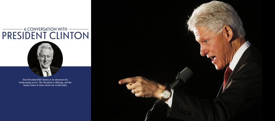 Bill Clinton at McCaw Hall