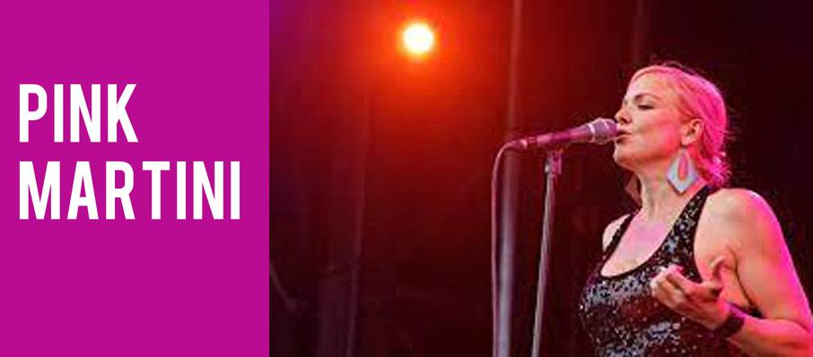 Pink Martini at Chateau St Michelle