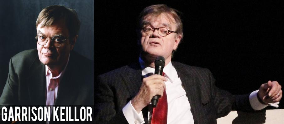 Garrison Keillor at Pantages Theater