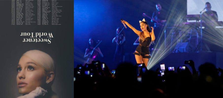 Ariana Grande at Key Arena