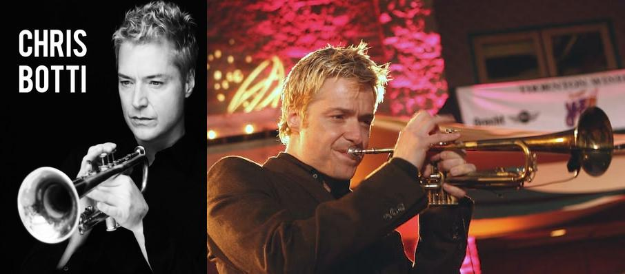 Chris Botti at Tacoma Dome