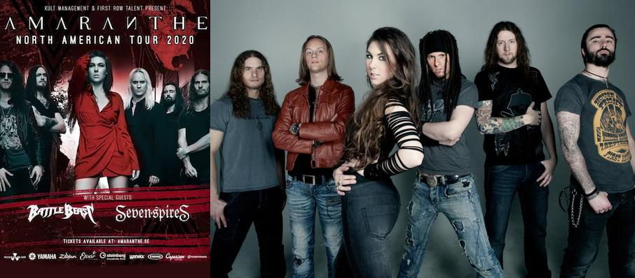 Amaranthe at Studio Seven