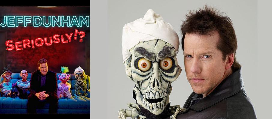 Jeff Dunham at Toyota Center
