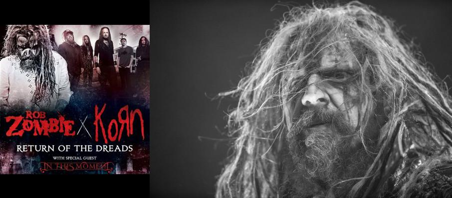 Rob Zombie, Korn & In This Moment at White River Amphitheatre