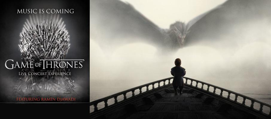 Game of Thrones Live Concert Experience: Ramin Djawadi at Key Arena