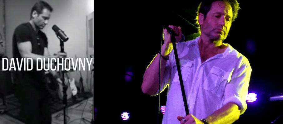 David Duchovny at Crocodile Cafe
