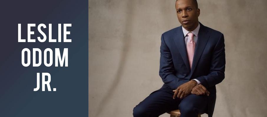 Leslie Odom Jr. at Neptune Theater