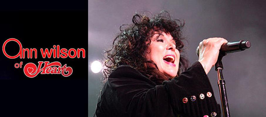 Ann Wilson at Moore Theatre