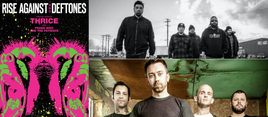 Deftones with Rise Against at White River Amphitheatre