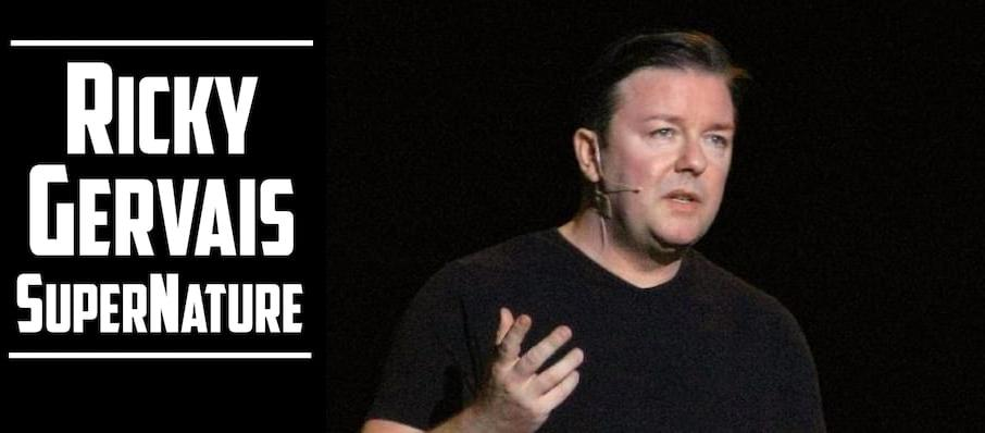 Ricky Gervais at Moore Theatre