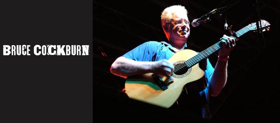 Bruce Cockburn at Neptune Theater