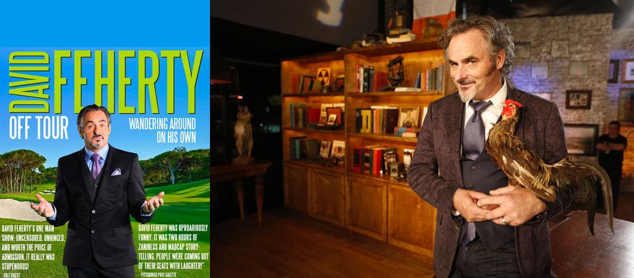 David Feherty at Pantages Theater
