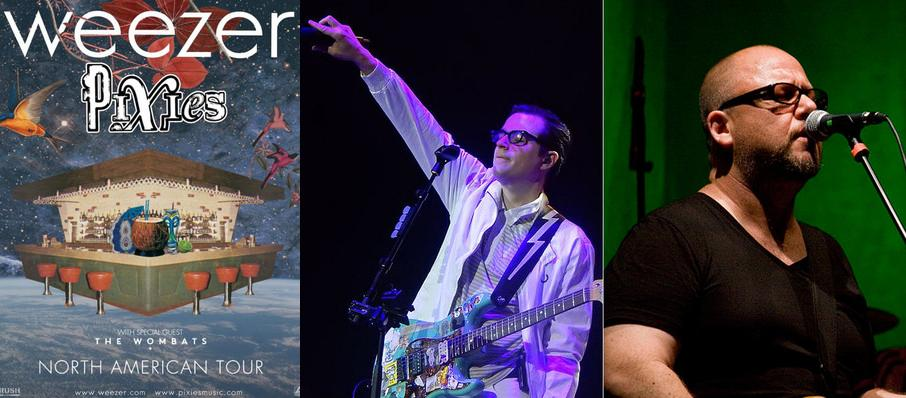 Weezer and Pixies at White River Amphitheatre