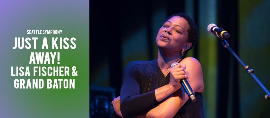 Seattle Symphony - Just a Kiss Away! Lisa Fischer and Grand Baton at Benaroya Hall
