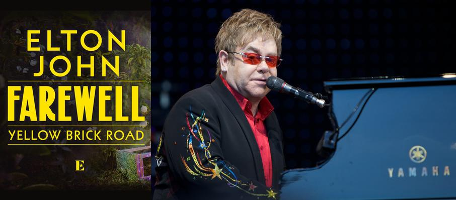 Elton John at Tacoma Dome