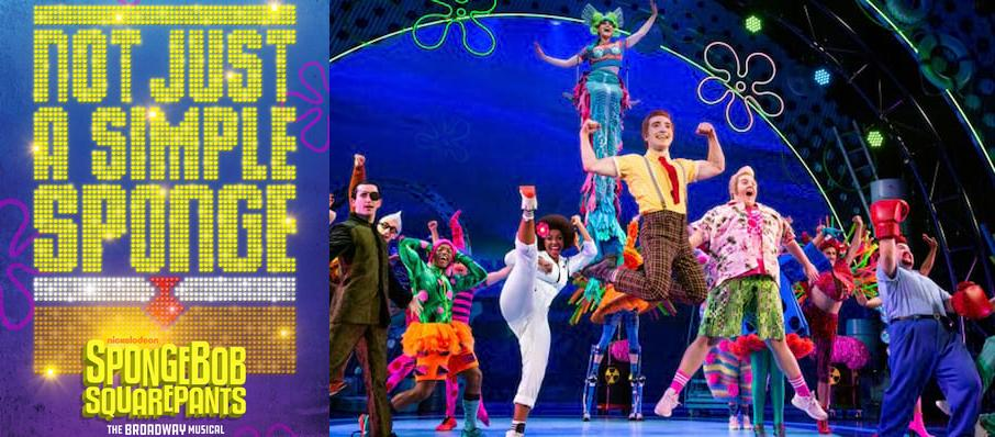 Spongebob Squarepants at Pantages Theater