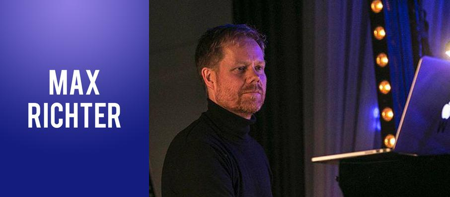 Max Richter at Moore Theatre