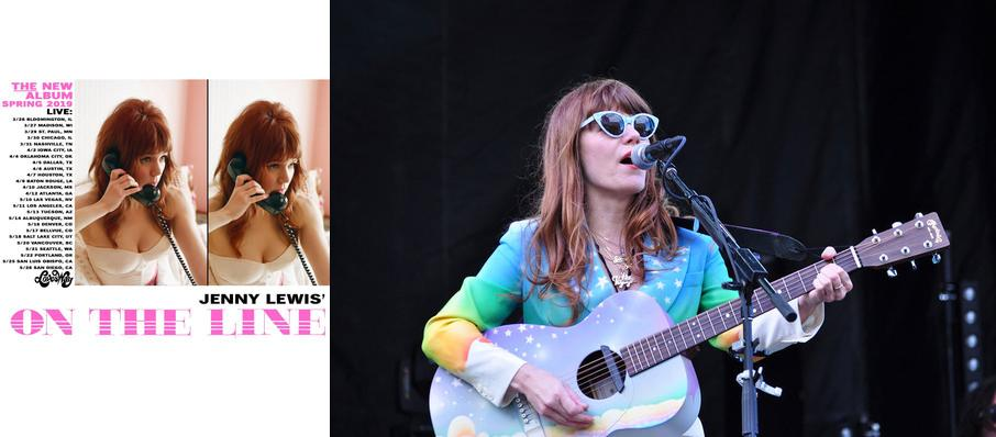 Jenny Lewis at Moore Theatre