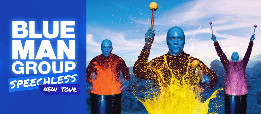 Blue Man Group at Pantages Theater