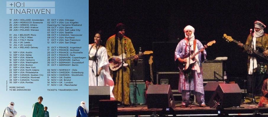 Tinariwen at Benaroya Hall