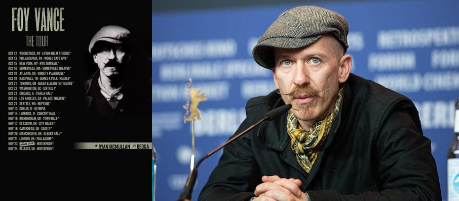 Foy Vance at Neptune Theater