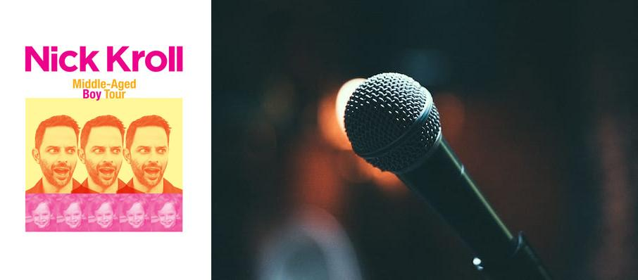 Nick Kroll at Moore Theatre