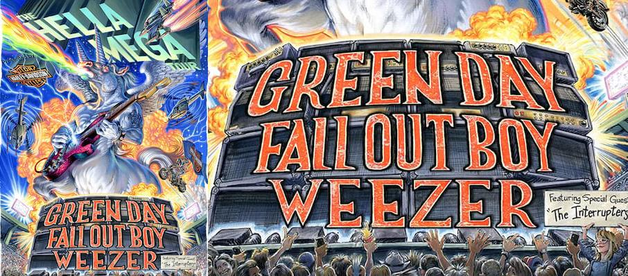 Green Day with Fall Out Boy and Weezer at T-Mobile Park