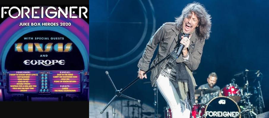 Foreigner with Kansas at White River Amphitheatre