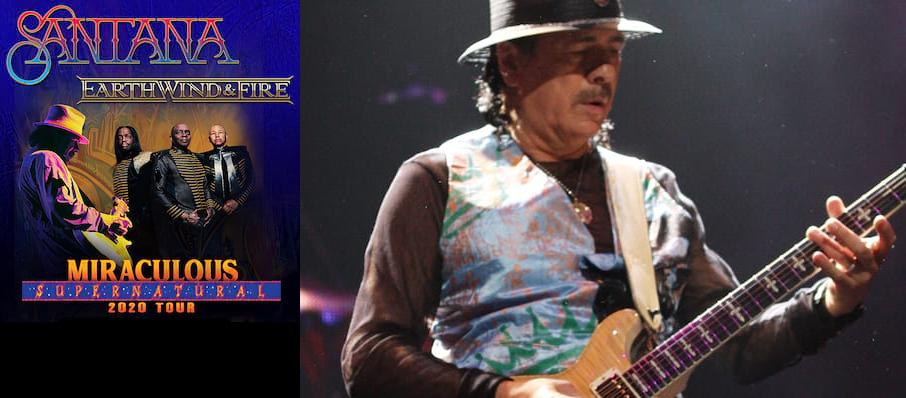 Santana with Earth Wind and Fire at White River Amphitheatre