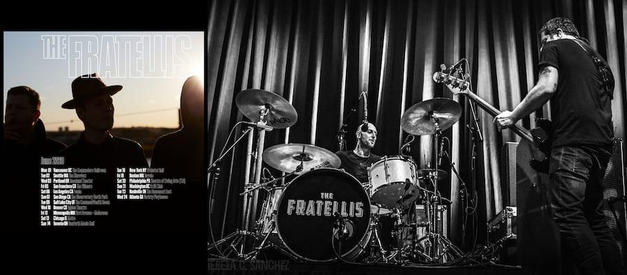 The Fratellis at Showbox Theater