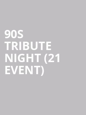 90s Tribute Night (21+ Event) at Sunset Tavern