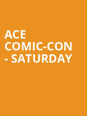 ACE Comic-Con - Saturday at WaMu Theater
