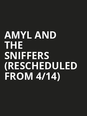 Amyl and The Sniffers (Rescheduled from 4/14) at Neumos