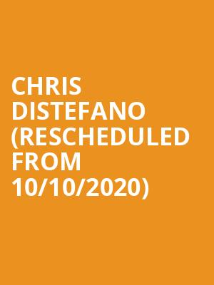 Chris Distefano (Rescheduled from 10/10/2020) at Neptune Theater