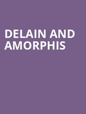 Delain and Amorphis at El Corazon