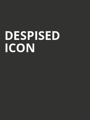 Despised Icon at El Corazon
