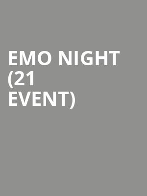 Emo Night (21+ Event) at El Corazon