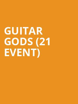 Guitar Gods (21+ Event) at Columbia City Theater