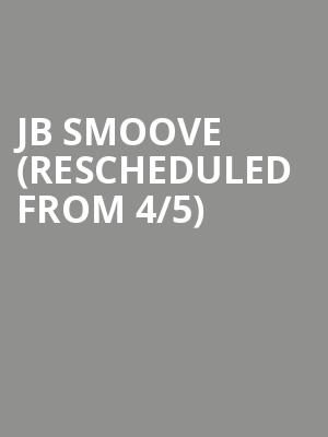 JB Smoove (Rescheduled from 4/5) at Moore Theatre