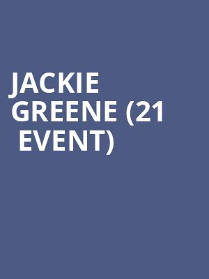 Jackie Greene (21+ Event) at Tractor Tavern