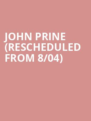 John Prine (Rescheduled from 8/04) at Woodland Park Zoo