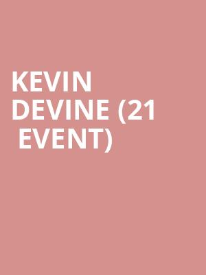 Kevin Devine (21+ Event) at Columbia City Theater