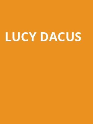 Lucy Dacus at Neumos